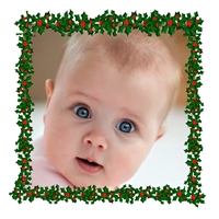 Picture of Photo Square Christmas Card S03