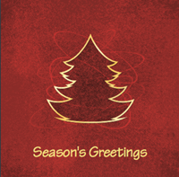 Picture of Folded Christmas Card S42