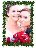 Picture of Photo Portrait Christmas Card P05
