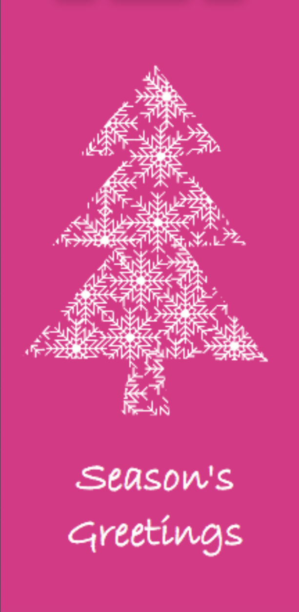Picture of Folded Christmas Card T03