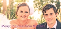 Picture of Wide Photo Christmas Card W01