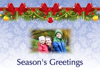 Picture of Photo Landscape Christmas Card L03